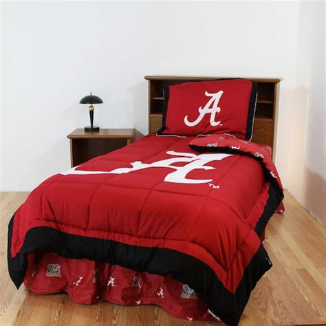 alabama crimson tide reversible comforter set full