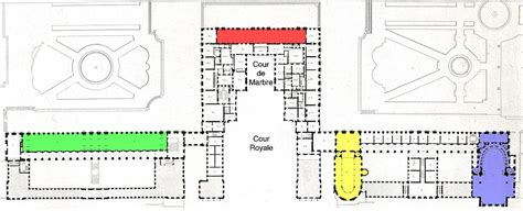 palace of versailles floor plan palace of versailles wikipedia