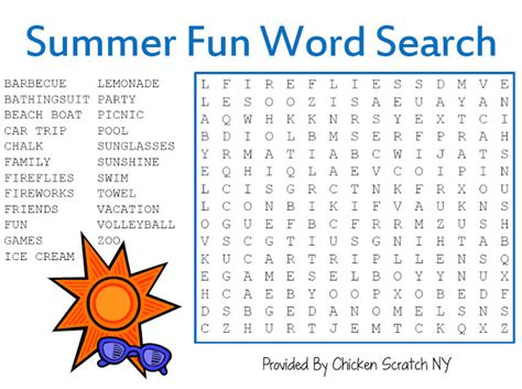 printable word search beach 5 best images of fun word search printable summer fun