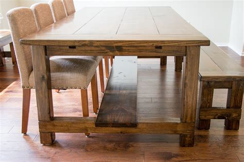 the simple farmhouse dining table designwalls