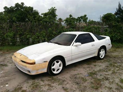 1991 Toyota Supra For Sale Find Used 1991 91 Toyota Supra Turbo Targa Barn Find All