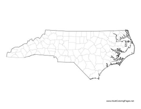 nc map coloring page north carolina coloring page