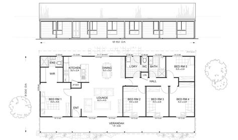 steel frame home floor plans sandford 5 met kit homes 5 bedroom steel frame kit