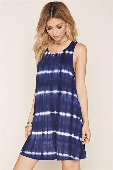 tie dye min dress dreamy for casual styling
