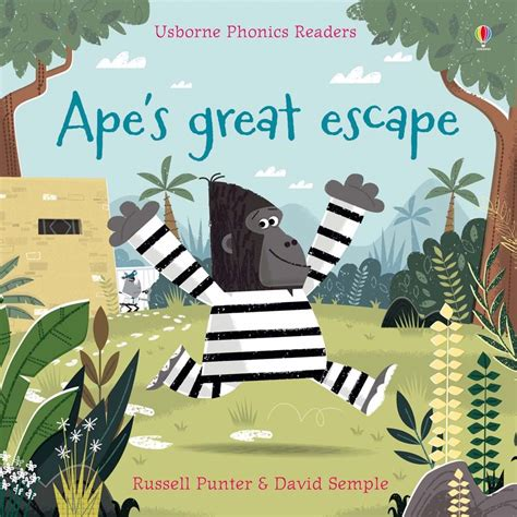 s great escape books ape s great escape at usborne children s books
