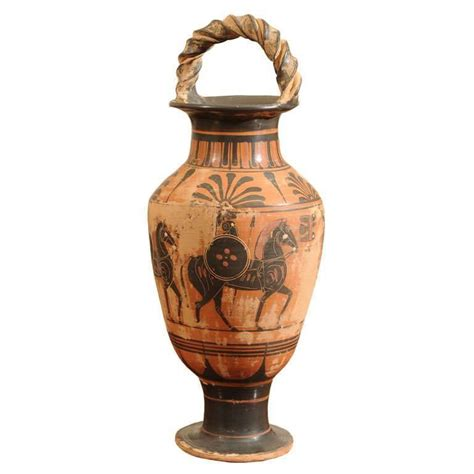 Vases And Vessels by Late 19th Century Terracotta Grand Tour Pottery Vessel At 1stdibs