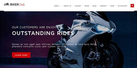 wordpress themes free motorcycle motorcycle wordpress themes templates free premium