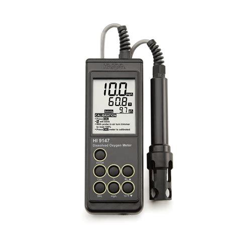 Oxygen Meter portable galvanic dissolved oxygen meter hi9147