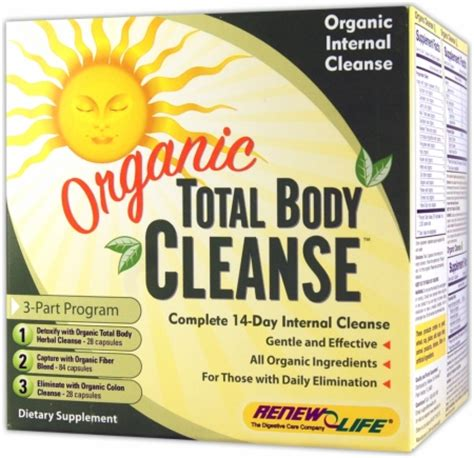 Lifetime Fitness Detox Program Kit Chocolate by Renew Organic Total Cleanse 14 Day Kit