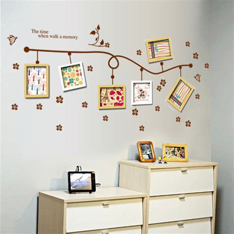 picture frame wall sticker popular vinyl picture frame wall decals buy cheap vinyl