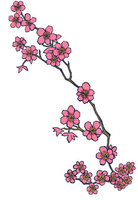 cherry blossom branch tattoo designs cherry blossom design ideas 2016 on
