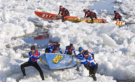 canoes he was ice he sport images of the day our picture editor s selection