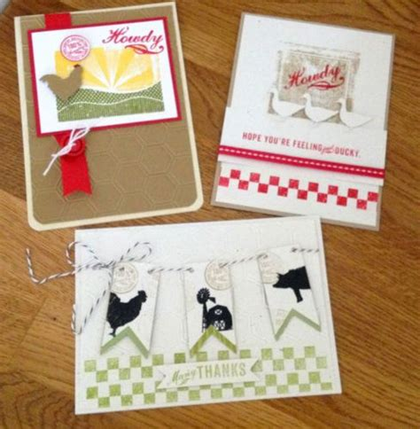 Handmade All Occasion Greeting Card Collection - 17 best images about cards on the farm on