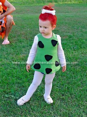 pebbles flintstone costume diy pebbles costume costumes and family costumes on