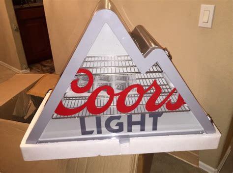 coors light mountain mini fridge coors light mountain shaped mini fridge w led light
