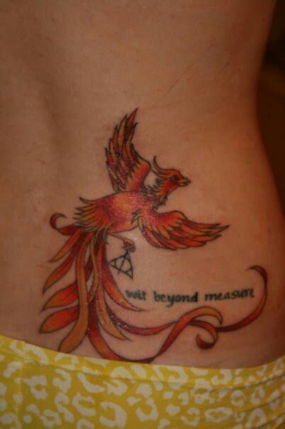 phoenix tattoo calf pin by lisa on tattoos pinterest