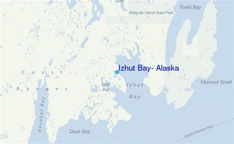 Alaska Tide Tables by Izhut Bay Alaska Tide Station Location Guide