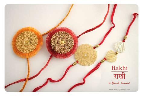 Handmade Rakhi Ideas - handmade rakhi m 233 tallique by anand prakash