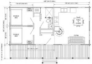 cabin layouts floor plans for cabins 16 x34 with loft plus 6 x34 porch side entry our cabin