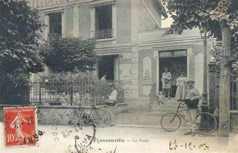 bureau de poste franconville l ancienne poste de franconville photimages d hier et