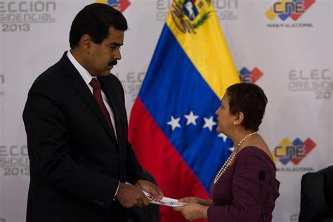 imagenes cne venezuela cne proclam 243 a maduro como presidente de venezuela