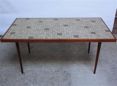 martz for marshall studios tile top dining table for sale