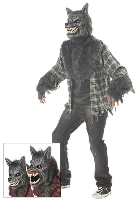 wolf costume moon costume