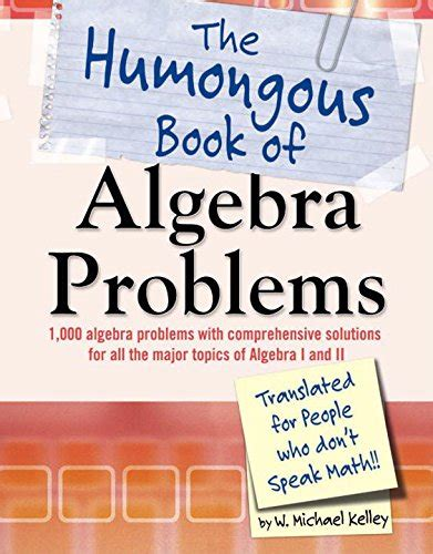 no nonsense algebra part of the mastering essential math skills series save 21 the humongous book of algebra problems