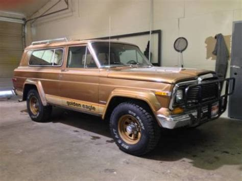 1979 jeep cherokee chief 1979 jeep cherokee chief s golden eagle for sale in boise