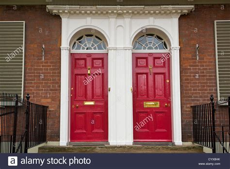 painted front doors images cerise painted front doors with brass fittings of georgian
