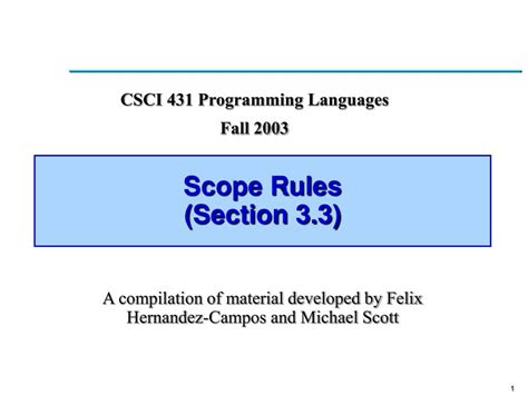 ruling section ppt scope rules section 3 3 powerpoint presentation