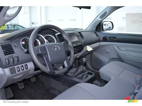 Toyota Tacoma 2013 Interior by Graphite Interior 2013 Toyota Tacoma Regular Cab 4x4 Photo 77388210 Gtcarlot