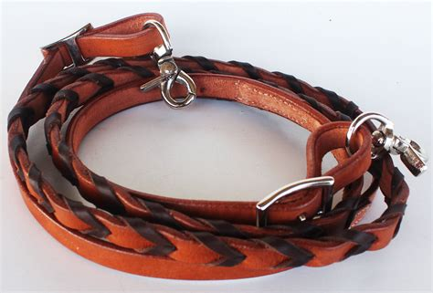Horse Tack Sweepstakes - horse 8ft contest western tack barrel leather rein 6639 ebay