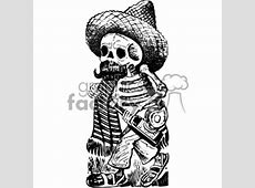 Royalty-Free drunk skeleton vector art day of the dead ... American Football Tattoos Designs
