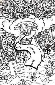 psychedelic coloring book trippy colouring pages enjoy coloring