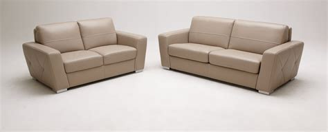 Beige Leather Sofas by Modern Beige Leather Sofa Bed Set
