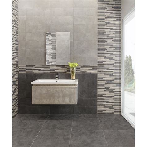 rivestimento bagno grigio bagno grigio e argento mattsole