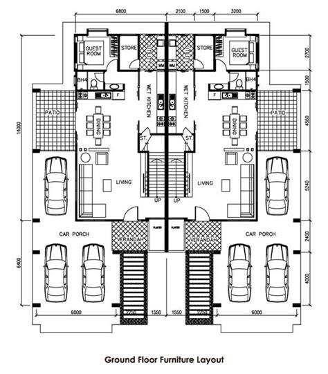 single detached house floor plan
