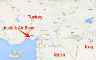 turkey will allow use of strategic air base for us assets