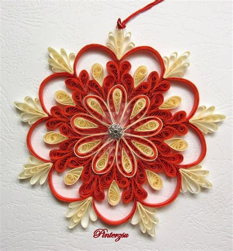 Quilling Decorations by 592 Best Quilling Flowers Snowflakes