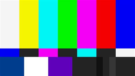 color bar 51 hd monitor calibration white balance and color bars