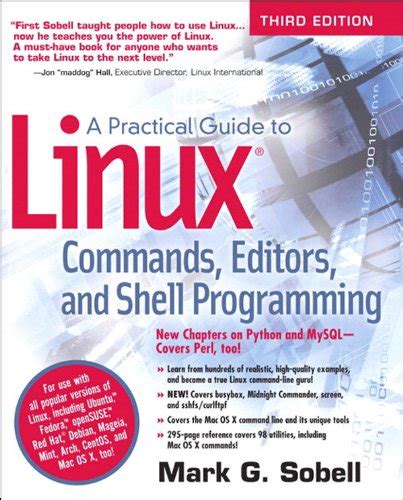 a practical guide to linux commands editors and shell programming 4th edition books bcit comp 7006 network security administration 1