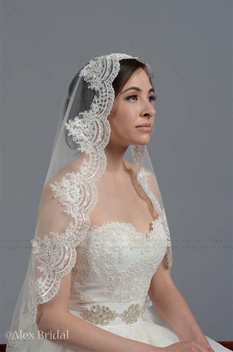 hairstyles with mantilla veil wedding veil bridal veil mantilla veil elbow length veil