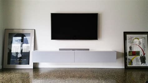 modern floating tv entertainment units and tv cabinets tv