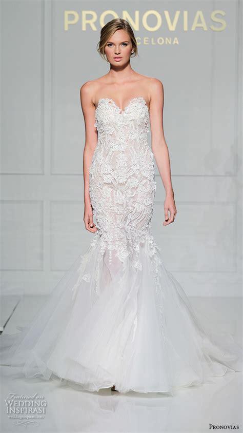 wedding pictures 2016 pronovias 2016 wedding dresses new york bridal runway