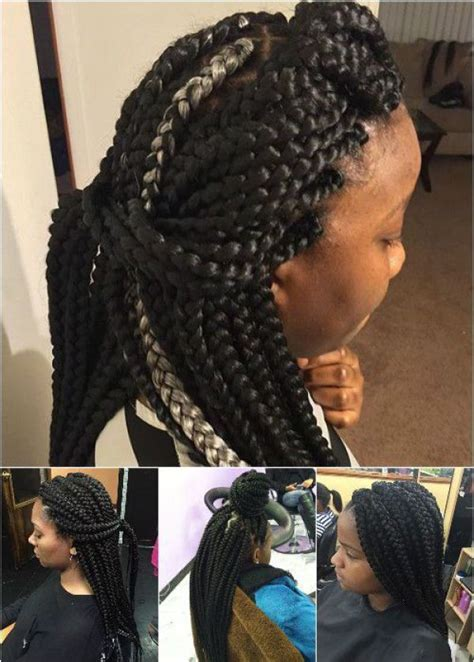 type of hair needed for box braids 66 best images about ghana braids on pinterest ghana