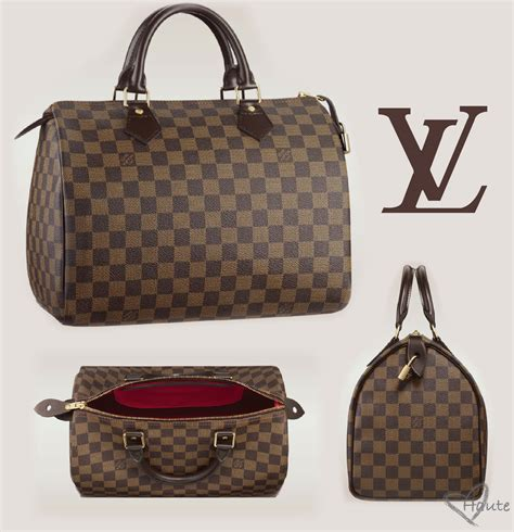 Louis Vuitton Speedy 40391 louis vuitton damier ebene canvas speedy haute by louis vuitton