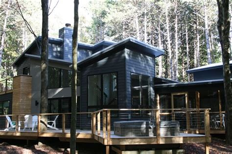 Secluded Cabin Rentals In Michigan by Secluded Modern Home 1 Block From Lake Michigan 3 Br Vacation House For Rent In Southwest