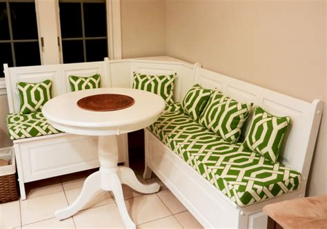 Banquette Cushions by Breakfast Nooks And Banquette Seating Traditional