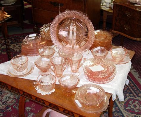 depression glass colors depression glass patterns values colors and more